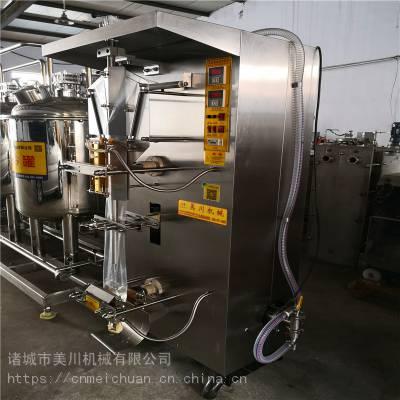 牛奶袋装包装机小白袋牛奶包装机厂家