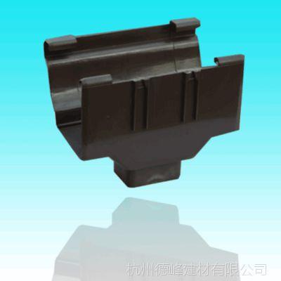 德峰厂家直销铝合金侧排雨水斗 多种尺寸雨漏斗独立水斗排水漏斗