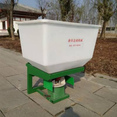 拖拉机悬挂化肥抛洒机 小麦地追肥机 大容量后输出轴带追肥机