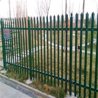 厂家生产锌钢铁艺护栏采用粉末喷漆 可用于小区 铁路