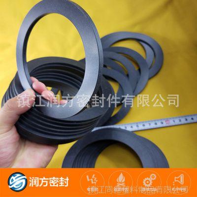 供应:氟塑料王F4填充碳纤维平垫片 表面非常光滑 非常的耐磨损