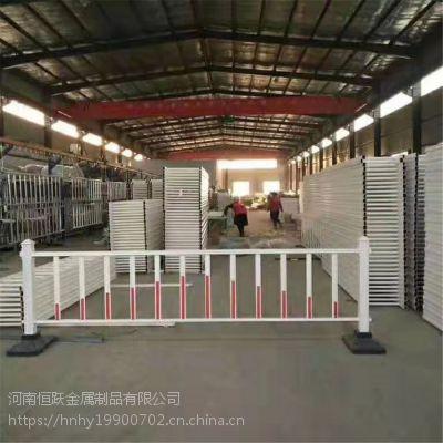 河南恒跃市政道路护栏 贴广告纸道路护栏 马路公路交通防炫目栏杆批发