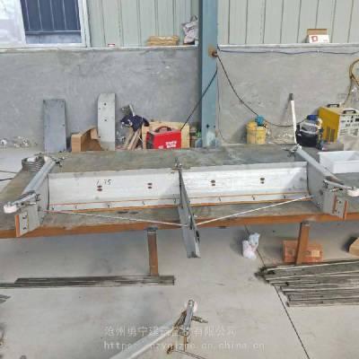 勇宁设备厂家常年生产全自动猪场专用粪尿分离清粪机 一拖二 拖三刮粪机