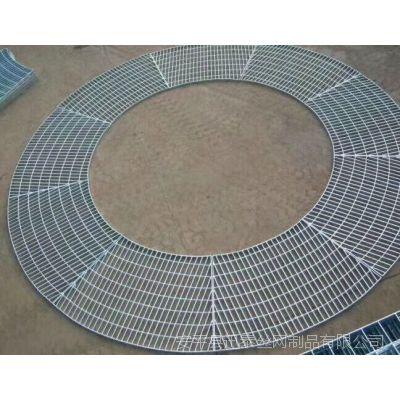 广东Q235钢格板 广东楼梯踏步板 楼梯踏步格栅板