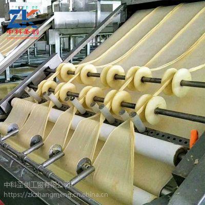 广东腐竹机多少钱一套 中科圣创大型腐竹自动生产线