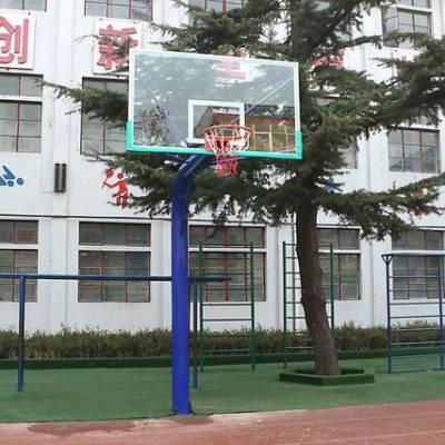 南阳方管篮球架厂家 埋地式篮球架 室外篮球架报价