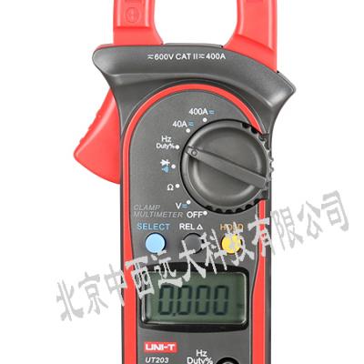 中西 优利德数字钳形表 型号:HP01-UT203 400-600A库号:M252109