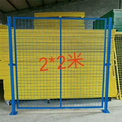 工厂室内场地围栏 仓库隔离网 车间移动护栏网