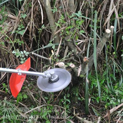 果园背负式小型汽油松土机 牧草收割设备