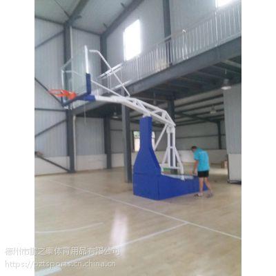 电动液压篮球架 液压升降 专业比赛标准篮球架
