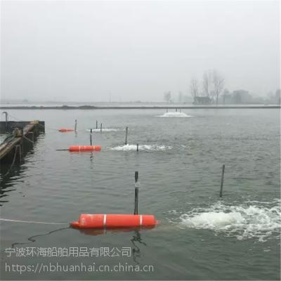 内湖pe养殖浮筒增氧机浮体安装图解