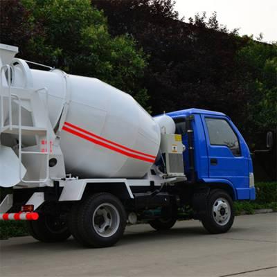 装载式混凝土搅拌车 两方混凝土搅拌运输车 水泥搅拌罐车