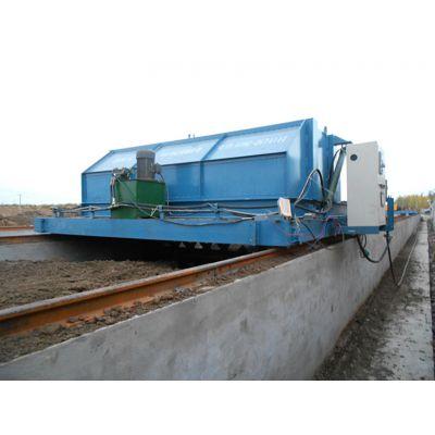 四川环保处理牛粪发酵制作有机肥设备的牛粪翻抛机