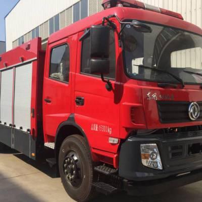 湖北江南东风特商水罐消防车载水量为6—7吨
