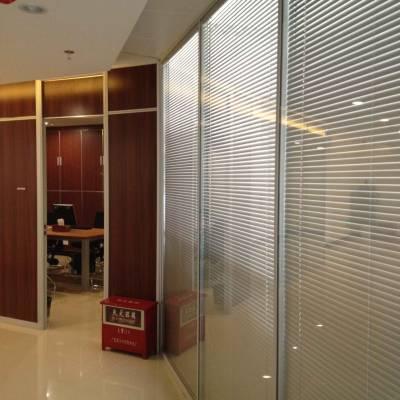 宝安悬浮式办公室玻璃隔断美隔厂家制造