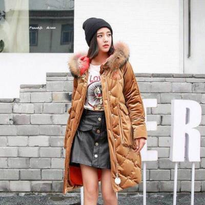 恺诗依高端双面绒中长款女呢走份批发广东服装批发市场
