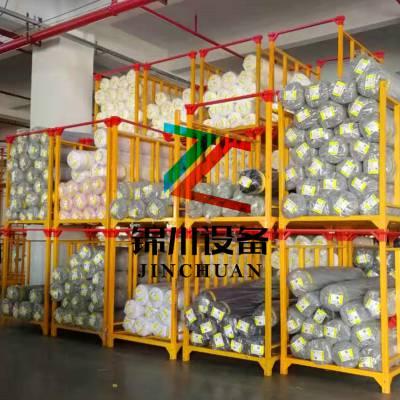 巧固架 专用冷库货架 堆垛架 布匹架 重力式堆垛 非标托盘锦川出品