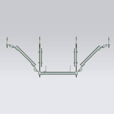 南城桥架双向抗震支架代理厂家直接批发_方程建材