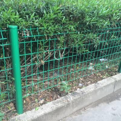 优盾定制园林绿化护栏网 铁路道路护栏网 双边丝护栏