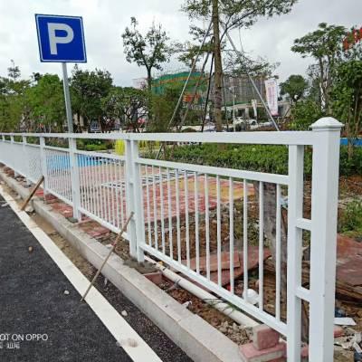 京式交通护栏 惠州路边围栏 人行道甲型隔离栅