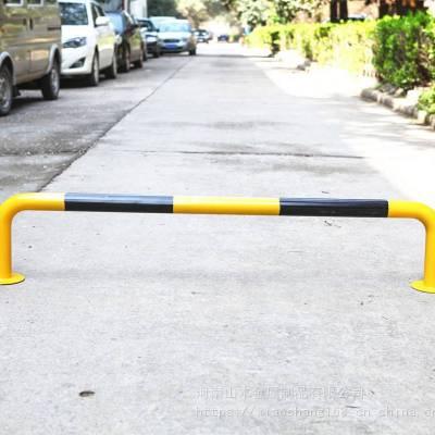 厂家U型阻车桩 钢管挡车器马路隔离柱停车桩车库车位限位器栏杆