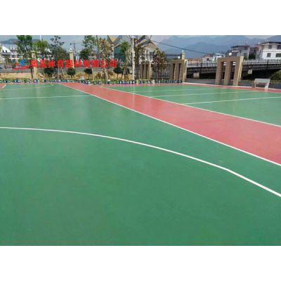 衡阳小区塑胶彩色篮球场施工设计 室外篮球场地施工改造