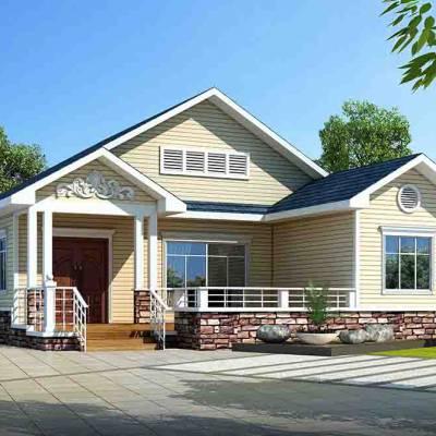 2020与自然和谐共生的新型建筑——中配轻钢别墅
