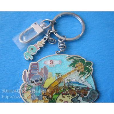 旅游纪念金属礼品,卡通钥匙扣定制,河南吊坠锁匙扣生产