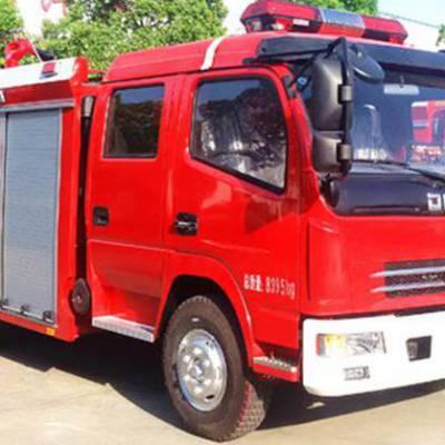 东风多利卡3.8L水罐消防车 厂家直销森林救火车