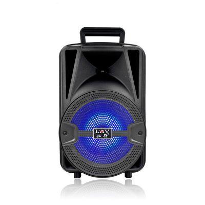 拉符108C 8寸户外广场舞手提音箱便携式手提音响