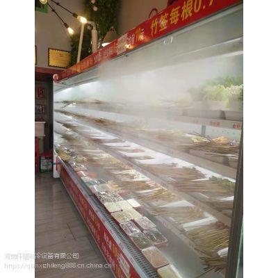 许昌小郡肝款型风幕柜带喷雾器功能仟曦冷风柜厂家直销