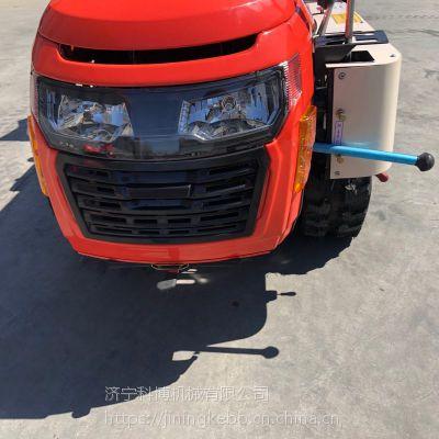 科博柴油动力的果园开沟机 农用多功能旋耕机 履带式开沟机