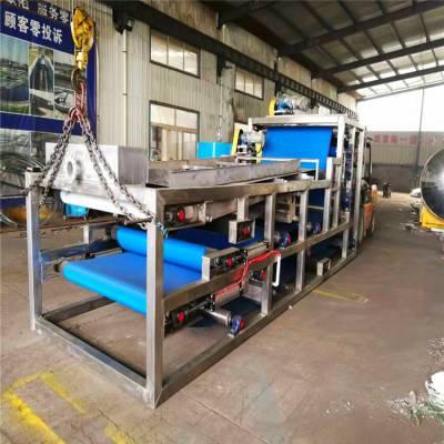 水平带式真空过滤机/污泥脱水压滤机厂家