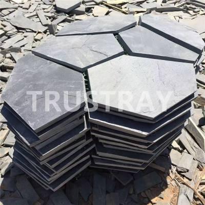 青石板碎拼|板岩网贴|4X7规格|江西诚磊可定制