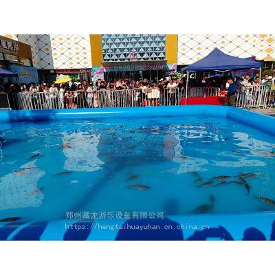 气模游泳池游乐场定做 小区里能不能摆充气水池摸鱼池 南阳哪里买钓鱼池小水池
