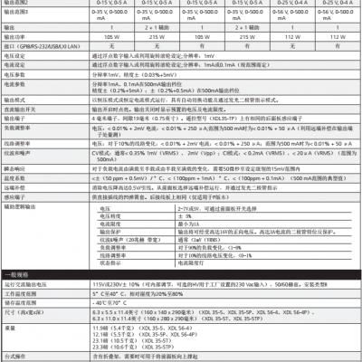 AMETEK/阿美特克美国XDL数字控制的台式电源