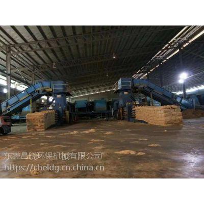 大型全自动液压废纸薄膜打包机广东厂家直销供应现货生活工业垃圾废品压包机
