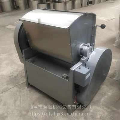 圆桶式真空和面机价格 多功能不锈钢揉面机 面制品加工设备