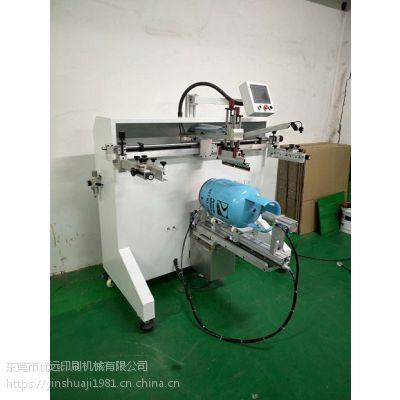 电饭煲外壳丝印机800R圆形电饭锅内胆移印机煤气罐滚印机