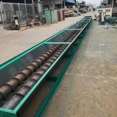 干灰水泥粉料管式提升机厂家 螺旋垂直上料机