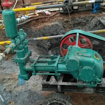 BW70-8新型砂浆泵 双缸活塞泵注浆机 卧式双缸活塞式注浆泵