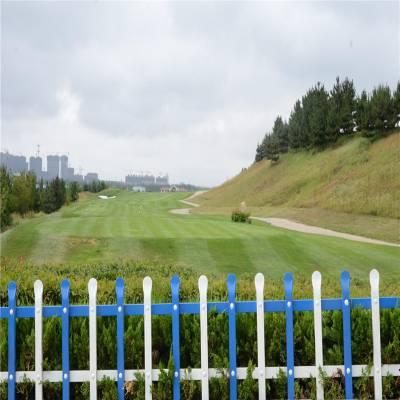 彩色草坪护栏 pvc塑钢草坪护栏 花坛隔离栏