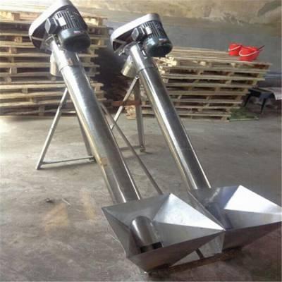 圆管密封化工无尘上料提升机 大型螺旋输送机视频 润丰机械