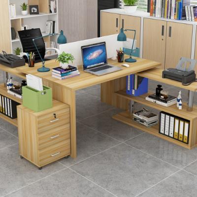 河北一赫批发简约职员办公电脑桌 4人工作位组合 带屏风卡座 定制双人员工桌