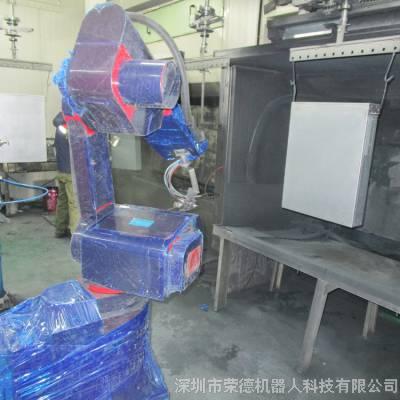 电脑机箱机器人喷涂线 悬挂式喷涂生产线