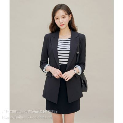 DNCY品牌服装连衣裙批发折扣 品牌女装一手货源加盟尾货银色风衣