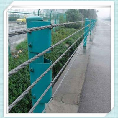 道路绳索防护栏 景区五索绳索护栏 厂家直销绳索护栏