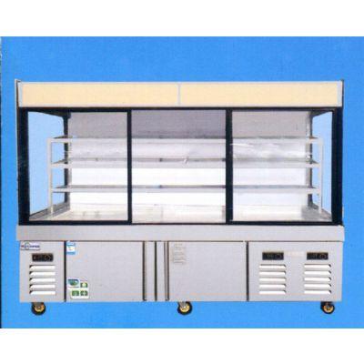 麻辣烫店专用展示柜-冠威制冷设备商用冰台