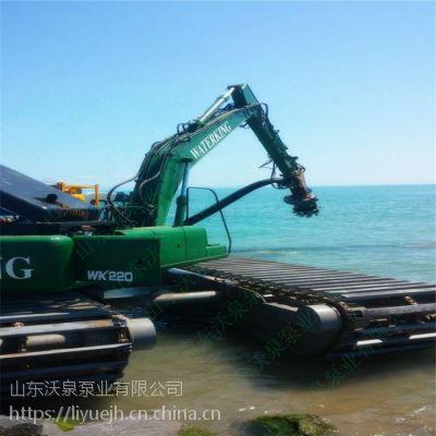 黄河河道清淤专用液压式大排量清淤泵 大功率挖机抽泥泵