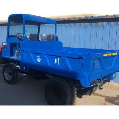 5吨载重四驱农用运输车 双顶自卸四不像车 断气刹四驱运输车